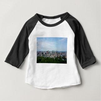 T-shirt Pour Bébé Horizon de ville de Montréal