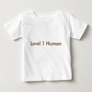 T-shirt Pour Bébé Humain du niveau 1