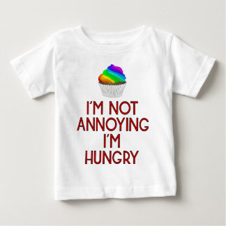 T-shirt Pour Bébé Hungry restauration rapide Burger lunch faim