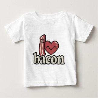 T-shirt Pour Bébé I lard de coeur
