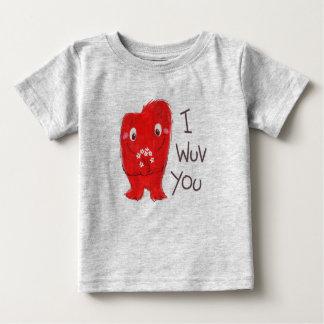 T-shirt Pour Bébé I Wuv que vous piquez