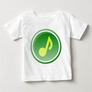 T-shirt Pour Bébé Icône de musique