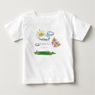 T-shirt Pour Bébé Il a fait tout beau dans son temps