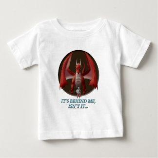 T-shirt Pour Bébé Il est derrière moi