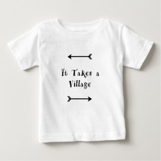 T-shirt Pour Bébé Il prend un village - adoption Parenting