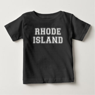 T-shirt Pour Bébé Île de Rhode