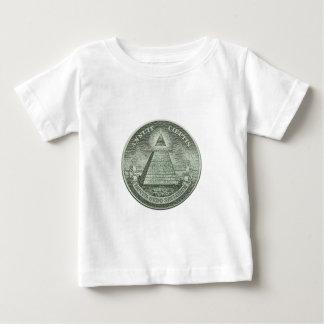 T-shirt Pour Bébé Illuminati - tout l'oeil voyant