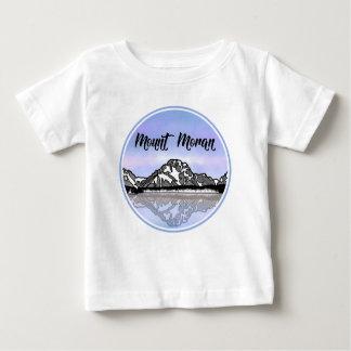 T-shirt Pour Bébé Illustration de montagne de Moran de bâti