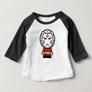 T-shirt Pour Bébé illustration d'un dieu de renard de bande dessinée