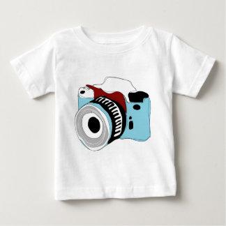 T-shirt Pour Bébé Illustration originale d'appareil photo numérique