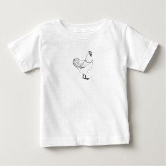 T-shirt Pour Bébé Illustration vintage de coq de style (races