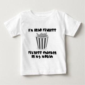 T-shirt Pour Bébé IM dans la forme physique - poulet
