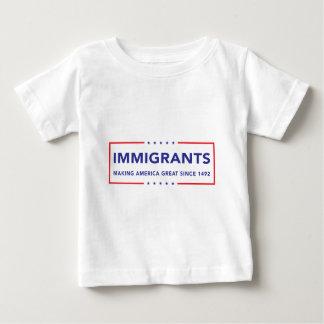 T-shirt Pour Bébé Immigrés