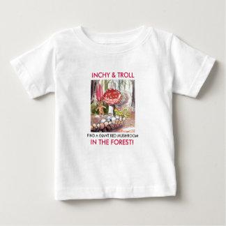 T-shirt Pour Bébé Inchy et Troll