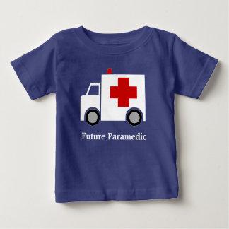 T-shirt Pour Bébé Infirmier blanc de l'ambulance   de Personalized 