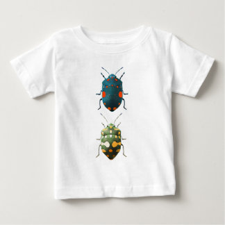 T-shirt Pour Bébé Insect colored