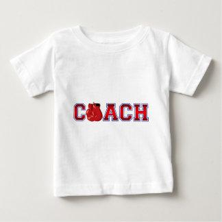 T-shirt Pour Bébé Insignes gentils de boxe d'entraîneur