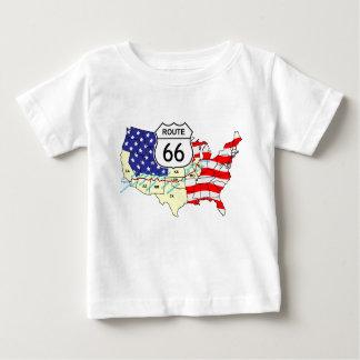 T-shirt Pour Bébé Itinéraire 66