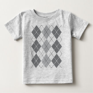 T-shirt Pour Bébé Jacquard gris