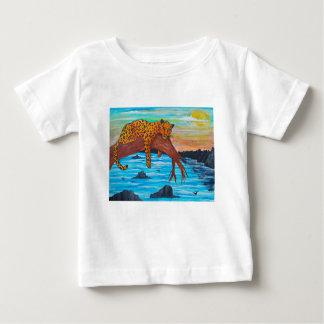 T-shirt Pour Bébé Jaguar reposant sur la branche