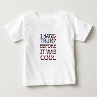 T-shirt Pour Bébé J'ai détesté l'atout avant qu'il ait fait frais