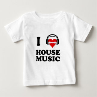T-shirt Pour Bébé J'aime la musique de Chambre
