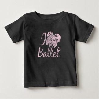 T-shirt Pour Bébé J'aime le ballet