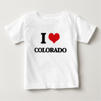 T-shirt Pour Bébé J'aime le Colorado