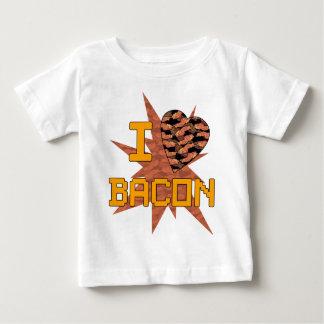 T-shirt Pour Bébé J'aime le lard