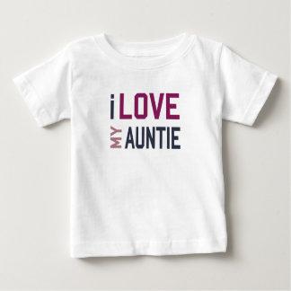 T-shirt Pour Bébé J'aime ma tante