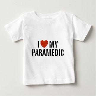T-shirt Pour Bébé J'aime mon infirmier