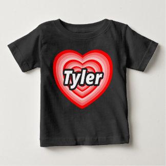 T-shirt Pour Bébé J'aime Tyler