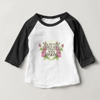 T-shirt Pour Bébé Jamais trop tard