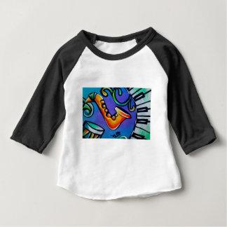 T-shirt Pour Bébé Jazz et tambours