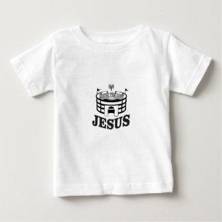 T-shirt Pour Bébé JC gris soulève le toit