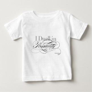 T-shirt Pour Bébé Je demeure dans la possibilité - citation d'Emily