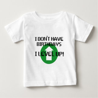 T-shirt Pour Bébé Je n'ai pas des anniversaires…
