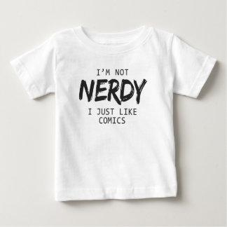 T-shirt Pour Bébé Je ne suis pas I ringard juste comme la copie de