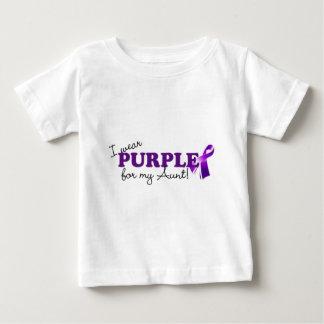 T-shirt Pour Bébé Je porte le pourpre