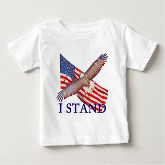 T-shirt Pour Bébé je représente l'Amérique