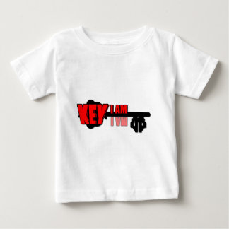 T-shirt Pour Bébé Je suis clé