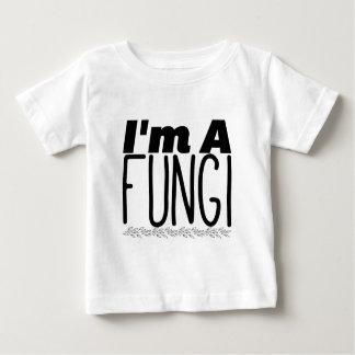 T-shirt Pour Bébé Je suis des champignons