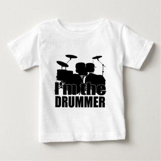 T-shirt Pour Bébé Je suis le batteur