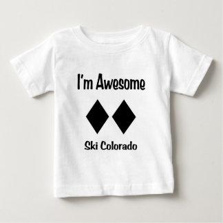 T-shirt Pour Bébé Je suis ski impressionnant le Colorado
