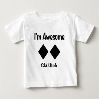 T-shirt Pour Bébé Je suis ski impressionnant Utah