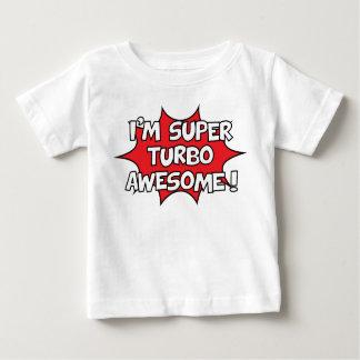 T-shirt Pour Bébé Je suis turbo superbe impressionnant !