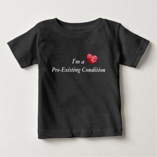 T-shirt Pour Bébé Je suis un enfant en bas âge pré existant de