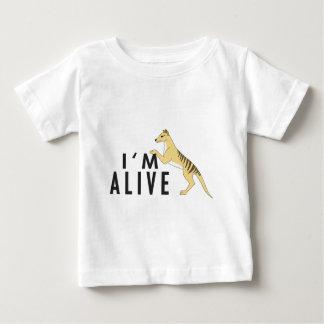 T-shirt Pour Bébé Je suis vivant - Thylacine