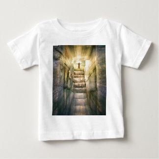 T-shirt Pour Bébé Jésus à la résurrection vide de Pâques de tombe