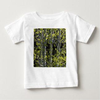 T-shirt Pour Bébé Jeunes arbres d'Aspen